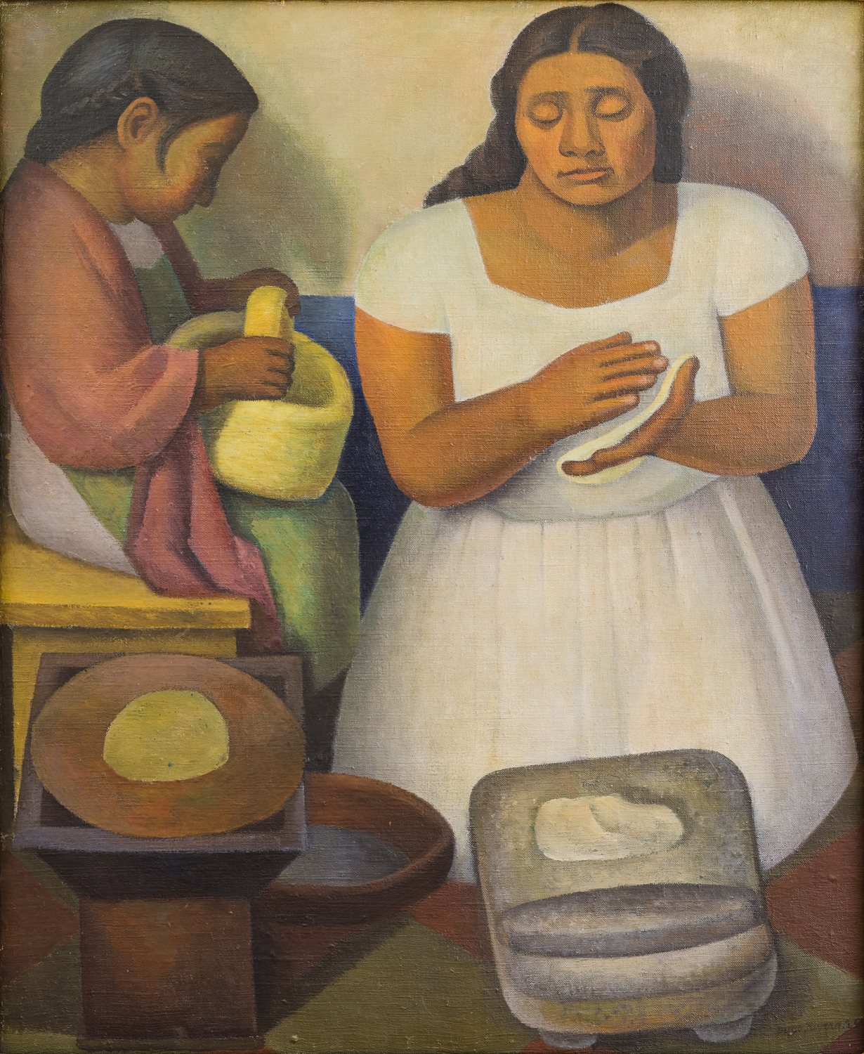 """La Tortillera"" by Frida Kahlo"